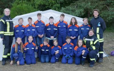Umzug der Jugendfeuerwehr Schlagsdorf nach Thandorf abgeschlossen