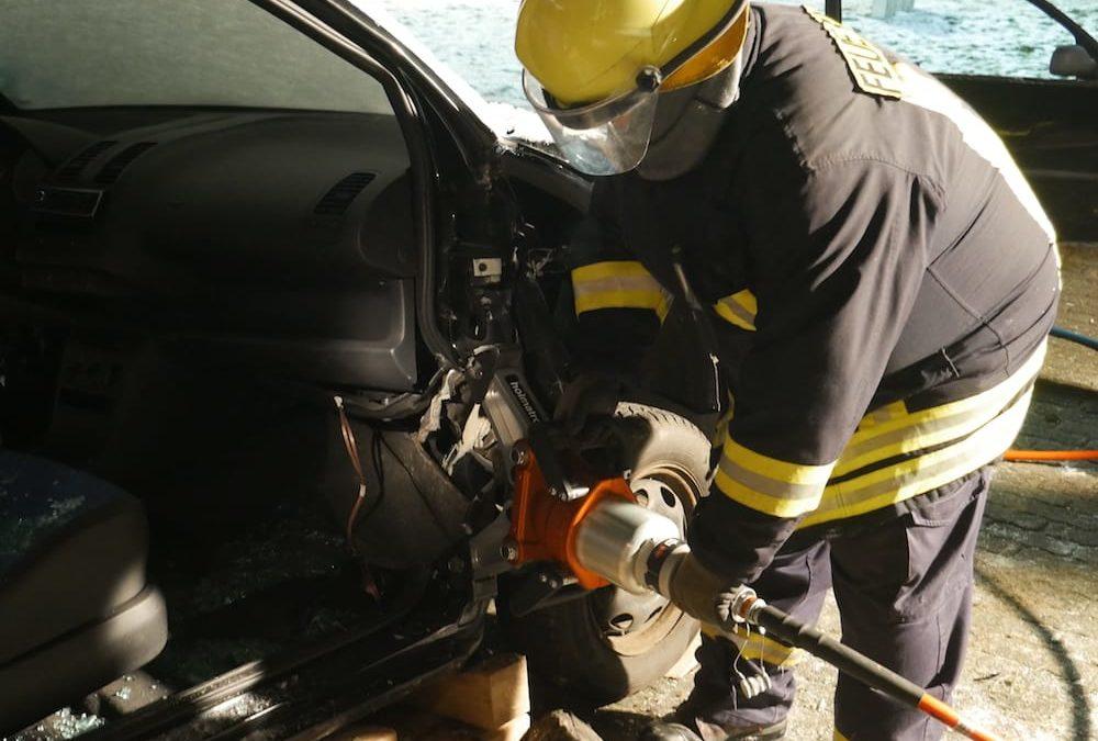 Einsatz: Verkehrsunfall auf der Kreisstraße 5