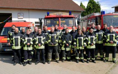 Unterstützung der Freiwilligen Feuerwehr Schlagsdorf