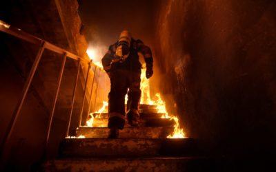 Einsatz: Großbrand in Torffabrik