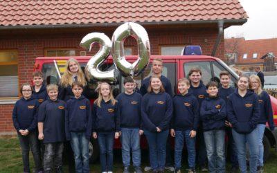 20 Jahre Jugendfeuerwehr Schlagsdorf