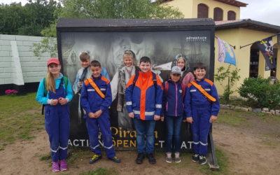 Die Jugendfeuerwehr kapert das Piraten-Open-Air in Grevesmühlen