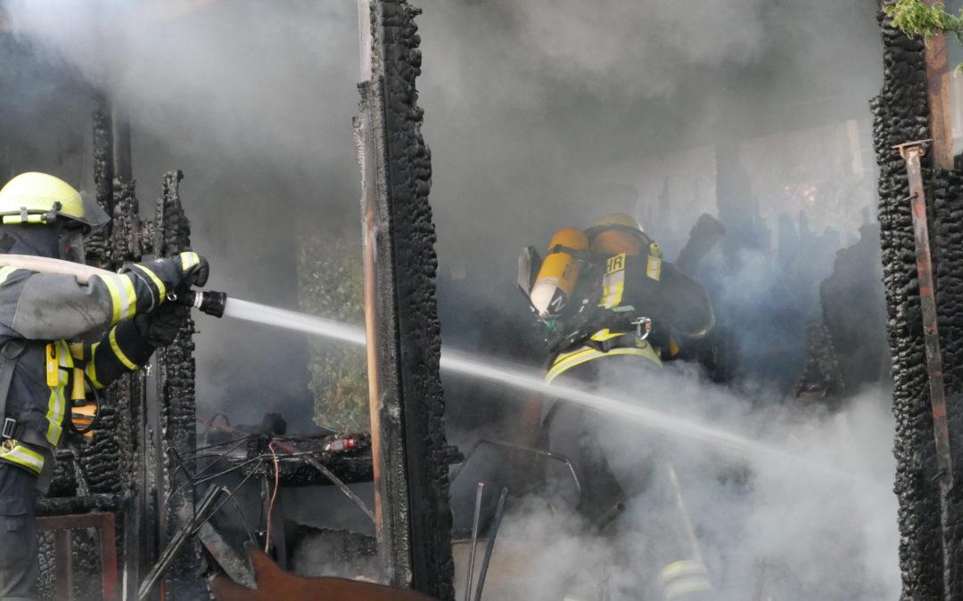 Einsatz: Schuppenbrand in Groß Molzahn