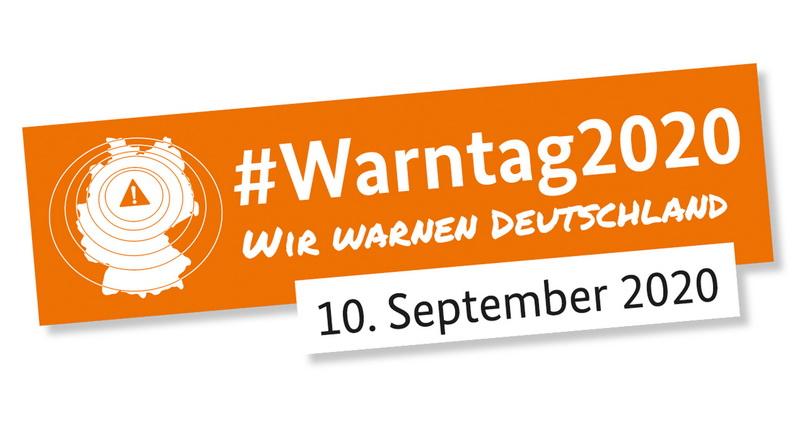 Erster bundesweiter Warntag am 10. September 2020